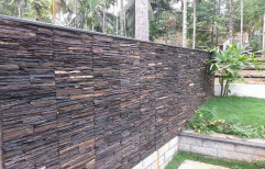 Black and Brown Exterior Stone Cladding, Packaging Type: Cartoon Box, Thickness: 10 To 15 Mm