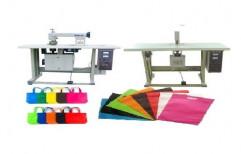 BluMac Semi Automatic Non Woven Bag Making Machine, Capacity: 80-100 (Pieces per hour), 220 V