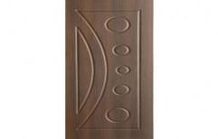 Brown Solid Wooden Door, Door Thickness: 32 Mm