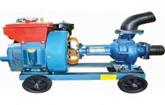 Cast Iron 5 hp Diesel Water Pump Set, Speed: 1500 RPM