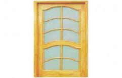 Decorative Wooden Glass Door