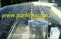 Freestanding Evacuated Tube Collector (ETC) Commercial Solar Water Heater, Model Name/Number: V-hot Plus, Warranty: 5 Years