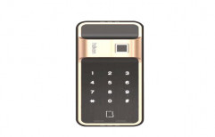 Haken Hdl-R51 Champagne Gold Digital Door Lock