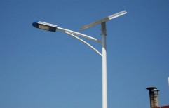JK Poles Aluminium Solar Street Light Pole, For Highways,Streets