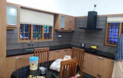L Shape Modular Kitchen, Warranty: 1-5 Years