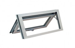 Magicwoods White Aluminium Awning Window, For Residential