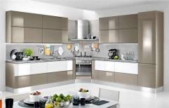 Modern Acrylic Modular Kitchen