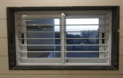 Modern Aluminium Aluminum Bedroom Window, For Home, Size/Dimension: 3 Feet (height)