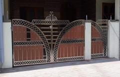 Modern Designer Stainless Steel Gate, For Residential