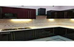 Modern L Shape Modular Kitchen