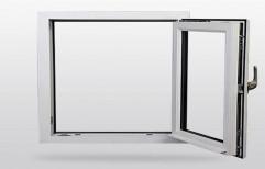 Modern White Aluminium Kitchen Window, Size/Dimension: 2 X 2 Feet