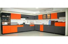 Modular Kitchen & Wardrobe Wooden Classic Modular Kitchen