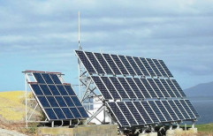 Mounting Structure Grid Tie Solar Power System, For Commercial, Capacity: 10 Kw