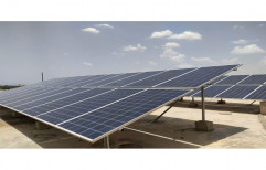 Mounting Structure Roof Top On Grid Solar Power Systems, Capacity: 1 Kw