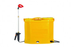 Plastic Agricultural Battery Sprayer Pump, Size: 40 X 33 X 65.8 Cm, Capacity Of Storage Tank: 16 Litre