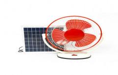 Plastic and Fibre 12 W Solar Table Fan