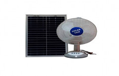 Plastic and Fibre Solar Fan, Voltage: 220 V