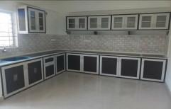 Plastic Pvc Modular Kitchen Cabinet