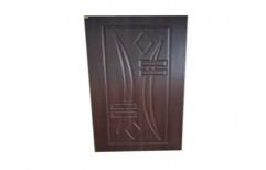 Polished Hinged Designer Wooden PVC Door