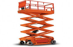 Power Lifts 1 to 9 Meter Electric Scissor Lift, For Factories, Capacity: 5 Ton
