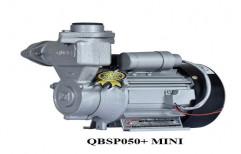QUBE Grey Electric Self Priming Pump, 0.5 HP