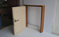 Rectangular WPC Door Frame