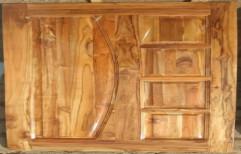 Reldor Woods Solid Ghana Teak wood door