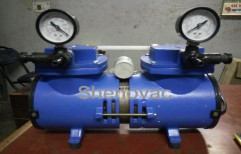 Shenovac Double Stage Oil Free Diaphragm Vacuum Pump, Model Name/Number: SV-75P, 0.25 Hp