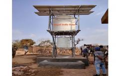 Solar Powered RO Water System, Capacity: 2 Tank