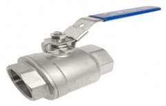 Stainless Steel Ball Valve, Size: 1/2 Inch