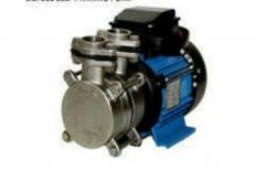 Stainless Steel Dairy Pump, Speed: 3600 RPM