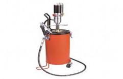 Steel Pneumatic Air Grease Pump, Capacity: 15kg - 50kg