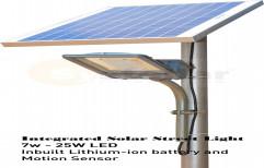 SYSTELLAR 7w 9w 12w 15w 20w 25w 30w 35w Semi Integrated Solar Street Light, 4 Kg