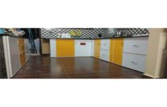 U Shape Aluminium Modular Kitchen