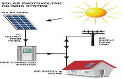 Waaree 25 kW On Grid System, Operating Voltage: 24 V