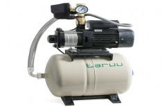 1 Hp Taruu Pressure Booster Pump ( 24 litre tank ), For Industrial