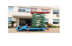 500 kg Moving Scissor Lift