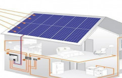Battery Grid Tie Solar Power Plant, For Industrial, Weight: Standardized