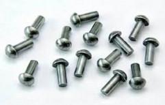 Black,Galvanized 6 Mm To 10 Mm Mild Steel Rivets