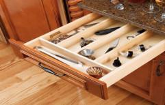 Brown Sannidhi Wooden Kitchen Drawer