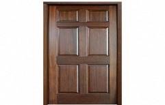 Brown Wooden Hinged Door for Home