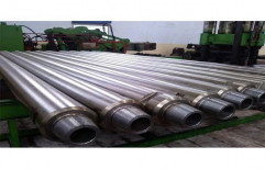 Carbide Tipped Straight Shank Friction Welded Drill Rods, Length: 5 feet