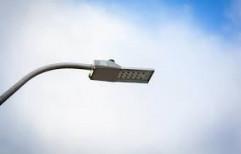 deeds White Dual Solar Street Light