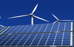 Diamond HYBRID WIND-SOLAR ENERGY SYSTEM, For Residential, Capacity: 1 Kw