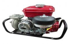 Diesel Single Phase Red Honda Pumpset, Model: Gk100