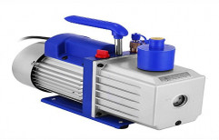 Double Stage Three Phase Rotary Vane Vacuum Pumps, 1.5 Hp