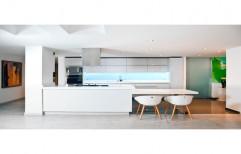 Gloss Wooden Modular Kitchen