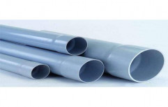 Grey PVC Water Pipes, Working Pressure: 2.5 Kg/sqcm, Thickness: 2-6 mm