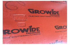 Growide Red Shuttering Plywood, Grade: 100% Waterproof, Thickness: 12 Mm,18mm