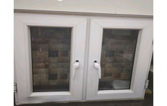 Hinge White Kitchen UPVC Window